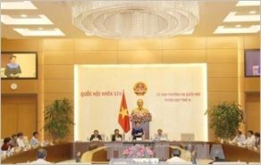 Bế mạc Phiên họp thứ 9, Ủy ban Thường vụ Quốc hội khóa XIV