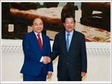 Thủ tướng hội đàm, hội kiến các nhà lãnh đạo Cam-pu-chia; thăm và chúc Tết Ðại Tăng thống Tép Vông