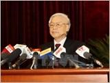 Toàn văn thông báo Hội nghị lần thứ năm Ban Chấp hành Trung ương Đảng khóa XII
