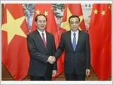 Chủ tịch nước Trần Đại Quang tiếp các nhà lãnh đạo Trung Quốc
