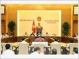 Khai mạc phiên họp thứ 10 của Ủy ban Thường vụ Quốc hội khóa XIV