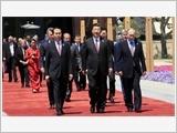 """Chủ tịch nước Trần Ðại Quang dự Diễn đàn cấp cao hợp tác quốc tế """"Vành đai và Con đường"""""""