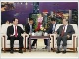 Thúc đẩy quan hệ đối tác hợp tác chiến lược toàn diện Việt Nam - Trung Quốc phát triển ổn định, lành mạnh