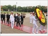 Chủ tịch Hạ viện Nhật Bản kết thúc chuyến thăm chính thức Việt Nam