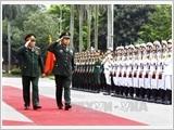 Đại tướng Ngô Xuân Lịch hội đàm với Phó Chủ tịch Quân ủy Trung ương Trung Quốc