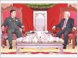 Tổng Bí thư Nguyễn Phú Trọng, Chủ tịch nước Trần Đại Quang, Thủ tướng Nguyễn Xuân Phúc tiếp Đoàn đại biểu cấp cao quân đội Trung Quốc