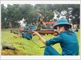 Đảng bộ huyện Phúc Thọ lãnh đạo xây dựng lực lượng dân quân tự vệ vững mạnh