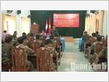 Quân khu 5 đẩy mạnh công tác đối ngoại quốc phòng