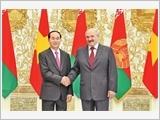 Chủ tịch nước Trần Đại Quang hội kiến các nhà lãnh đạo Bê-la-rút