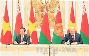 Tuyên bố chung Việt Nam - Belarus