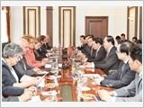 Chủ tịch nước Trần Đại Quang thăm chính thức Liên bang Nga