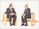 Thủ tướng Nguyễn Xuân Phúc hội kiến Nhà vua Nhật Bản; hội đàm với Thủ tướng S.A-bê