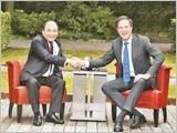 Thủ tướng Nguyễn Xuân Phúc hội đàm với Thủ tướng Hà Lan M.Rút-tơ
