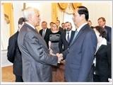 Chủ tịch nước Trần Đại Quang kết thúc tốt đẹp chuyến thăm chính thức Liên bang Nga