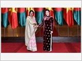 Chủ tịch Quốc hội Nguyễn Thị Kim Ngân đón, hội đàm với Chủ tịch Quốc hội Băng-la-đét S.Chao-đu-ri