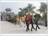 Lực lượng vũ trang Điện Biên thực hiện công tác thương binh, liệt sĩ