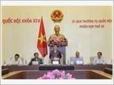 Khai mạc Phiên họp thứ 13 Ủy ban Thường vụ Quốc hội khóa XIV