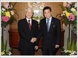 Tổng Bí thư Nguyễn Phú Trọng hội kiến các nhà lãnh đạo In-đô-nê-xi-a
