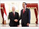 Tổng Bí thư Nguyễn Phú Trọng hội đàm với Tổng thống In-đô-nê-xi-a