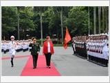Bộ trưởng Quốc phòng Australia thăm chính thức Việt Nam