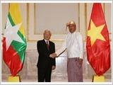 Tổng Bí thư Nguyễn Phú Trọng hội đàm với Tổng thống, hội kiến Chủ tịch Quốc hội Mi-an-ma