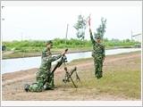 """Lực lượng vũ trang Quân khu 9 thực hiện Cuộc vận động """"Phát huy truyền thống, cống hiến tài năng, xứng danh Bộ đội Cụ Hồ"""""""