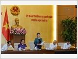 Khai mạc phiên họp thứ 14 của Ủy ban Thường vụ Quốc hội khóa XIV