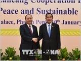 Thủ tướng Nguyễn Xuân Phúc tới Campuchia dự Hội nghị Cấp cao Hợp tác Mekong-Lan Thương