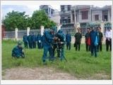 Huyện Đông Hưng tập trung xây dựng khu vực phòng thủ vững mạnh
