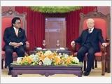 Tổng Bí thư Nguyễn Phú Trọng, Chủ tịch nước Trần Đại Quang tiếp Chủ tịch Thượng viện In-đô-nê-xi-a