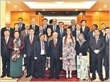 Tổng Bí thư, Chủ tịch nước, Chủ tịch Quốc hội tiếp các Trưởng đoàn đại biểu dự Hội nghị APPF-26