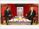 Tổng Bí thư Nguyễn Phú Trọng tiếp Chủ tịch Thượng viện Mê-hi-cô
