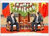 Chủ tịch nước Trần Đại Quang, Thủ tướng Nguyễn Xuân Phúc tiếp; Chủ tịch Quốc hội Nguyễn Thị Kim Ngân đón, hội đàm với Chủ tịch Quốc hội Mông Cổ M.Ên-khơ-bon-đơ