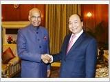 Thủ tướng Nguyễn Xuân Phúc hội kiến Tổng thống Ấn Độ R.Cô-vin, hội đàm với Thủ tướng Ấn Độ N.Mô-đi