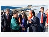 Chủ tịch Quốc hội Nguyễn Thị Kim Ngân đến Thủ đô Ankara, bắt đầu thăm chính thức Cộng hòa Thổ Nhĩ Kỳ
