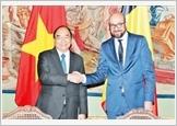 Thủ tướng Nguyễn Xuân Phúc hội đàm với Thủ tướng Bỉ S.Mi-xen