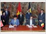 Tuyên bố chung Việt Nam - Bỉ