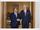 Thủ tướng Nguyễn Xuân Phúc hội kiến Nhà vua Bỉ Phi-líp