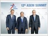 Thủ tướng Nguyễn Xuân Phúc dự Hội nghị cấp cao ASEM 12