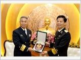 Quân chủng Hải quân thực hiện tốt công tác đối ngoại quốc phòng