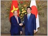 Thủ tướng Nguyễn Xuân Phúc hội đàm với Thủ tướng Nhật Bản S.A-bê