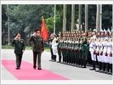 Tăng cường quan hệ hợp tác quốc phòng Việt Nam - Belarus