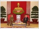 Tổng Bí thư, Chủ tịch nước Nguyễn Phú Trọng tiếp Bộ trưởng Bộ các Lực lượng Vũ trang Cách mạng Cuba