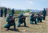 Huyện Thuận Nam với việc xây dựng dân quân biển vững mạnh