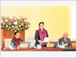 Phiên họp thứ 21 của Ủy ban Thường vụ Quốc hội