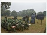 Trường Sĩ quan Pháo binh đẩy mạnh xây dựng chính quy