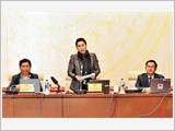 Bế mạc phiên họp thứ 22 của Ủy ban Thường vụ Quốc hội
