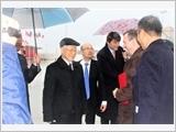 Tổng Bí thư kết thúc chuyến thăm chính thức Pháp, đi thăm cấp Nhà nước Cộng hòa Cuba