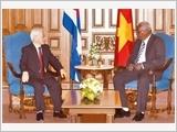 Tổng Bí thư Nguyễn Phú Trọng hội kiến Chủ tịch Quốc hội Cu-ba E.La-xô Éc-nan-đết