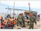 Diễn tập chuyên ngành khu vực phòng thủ của tỉnh Nam Định - kết quả và kinh nghiệm